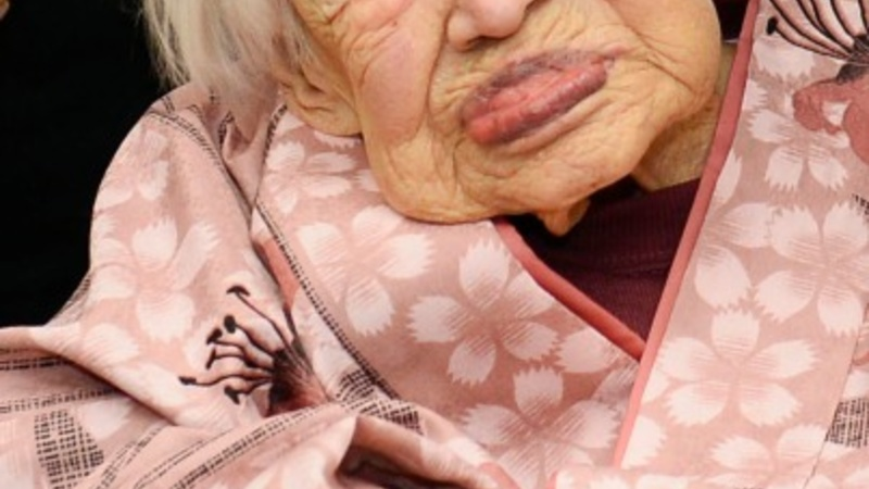 World's oldest person dies in Japan