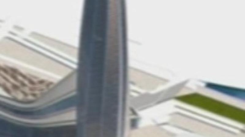 Russian skyscraper climbs into record books