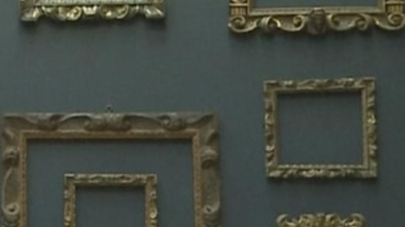 Frames take centre stage at National Gallery exhibition