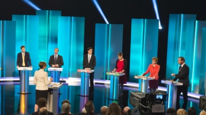UK political rivals battle it out on TV