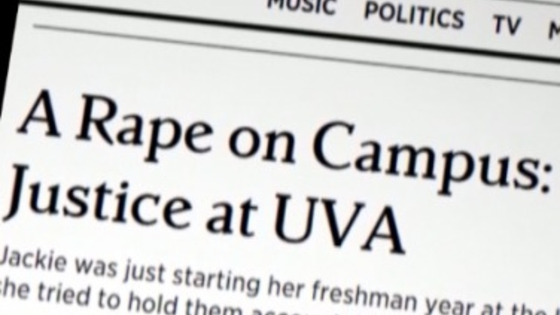 VERBATIM: Rolling Stone rape story rebuked