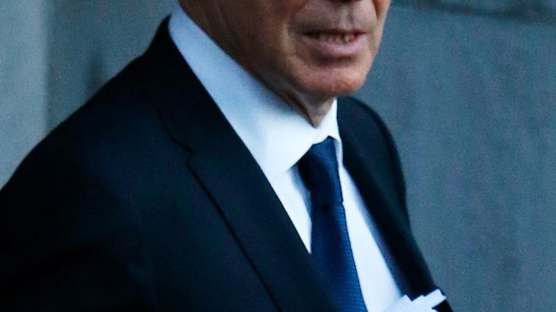 Blair back on UK political front line