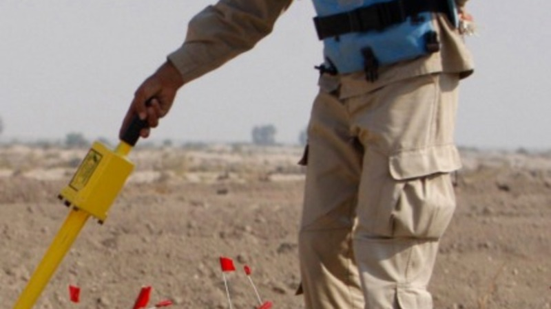 Iraq launches campaign to clear landmines