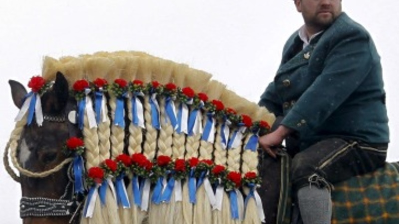 Horse blessing in Bavaria