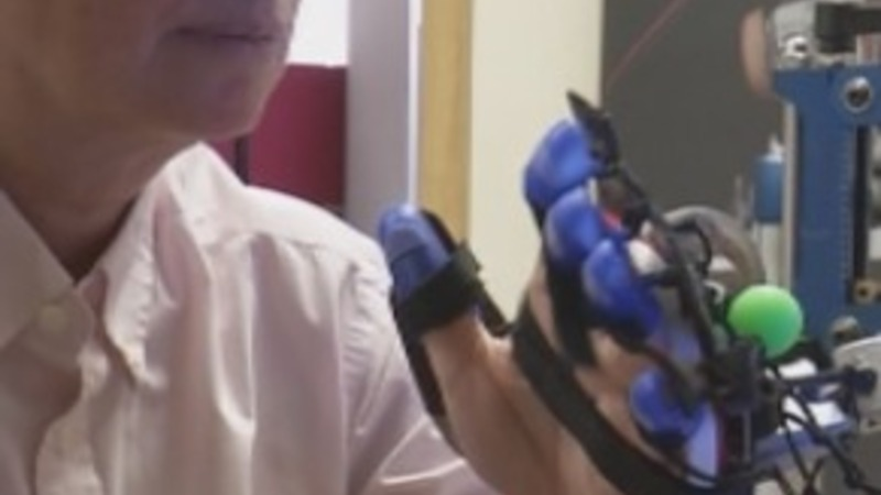 Robotic glove set to aid stroke victims