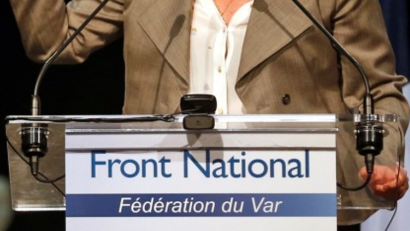 French far-right leader urges father to quit