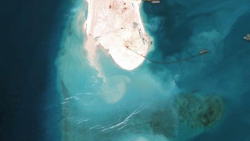 China builds up Mischief Reef