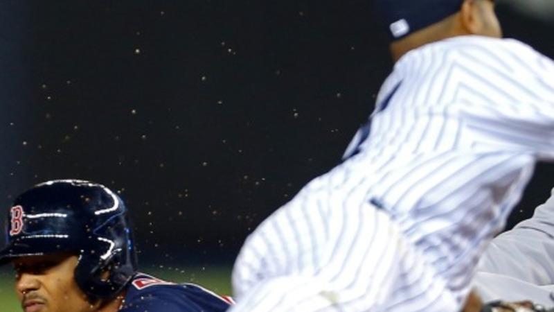 Red Sox edge Yankees in marathon game