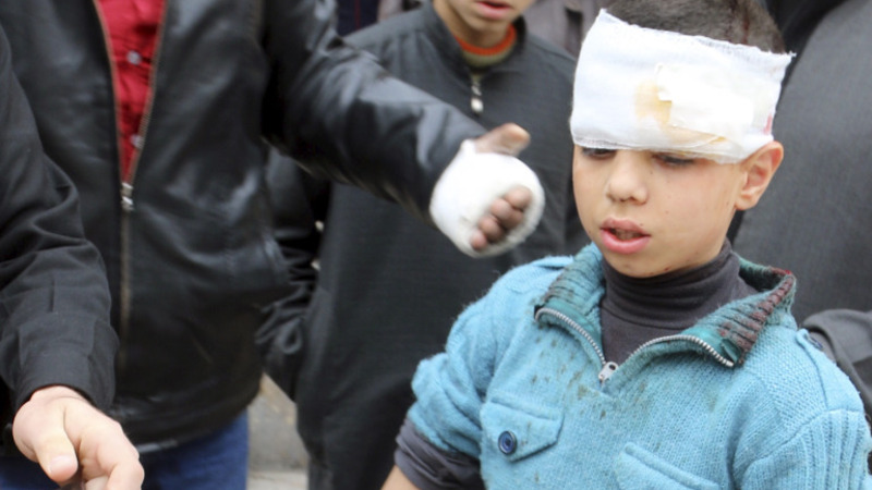 At least 9 dead in Syrian school bombing