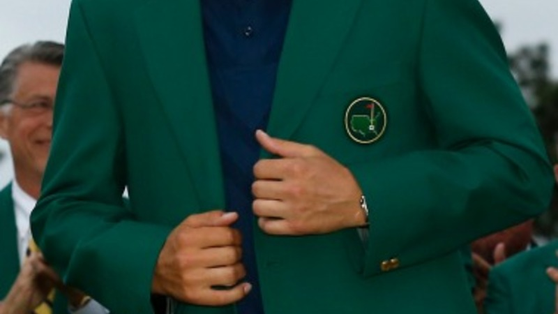 Jordan Spieth matches Woods' Masters record