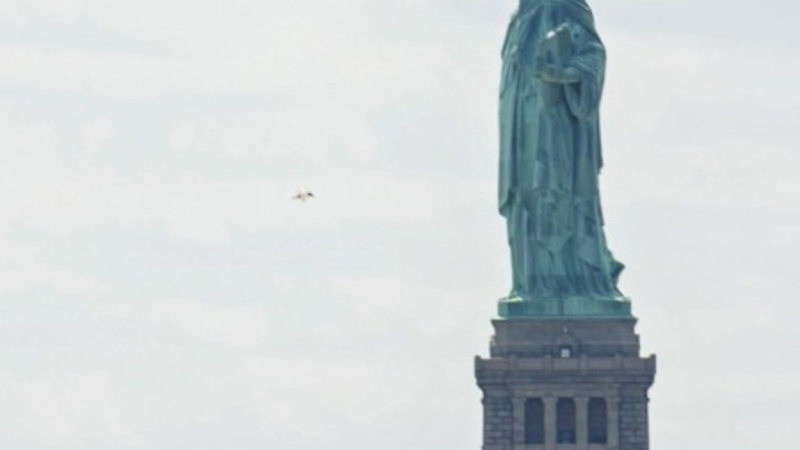 Evacuation at the Statue of Liberty
