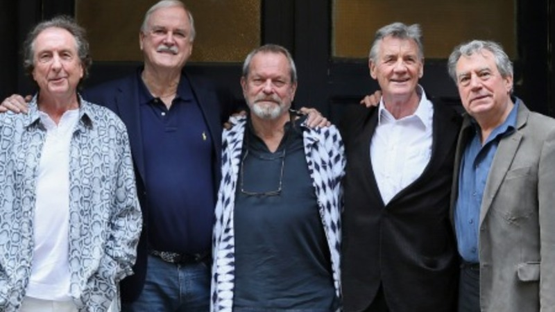 Monty Python cast reunites in New York