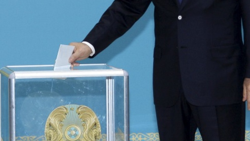 Kazakh President re-elected for fifth term