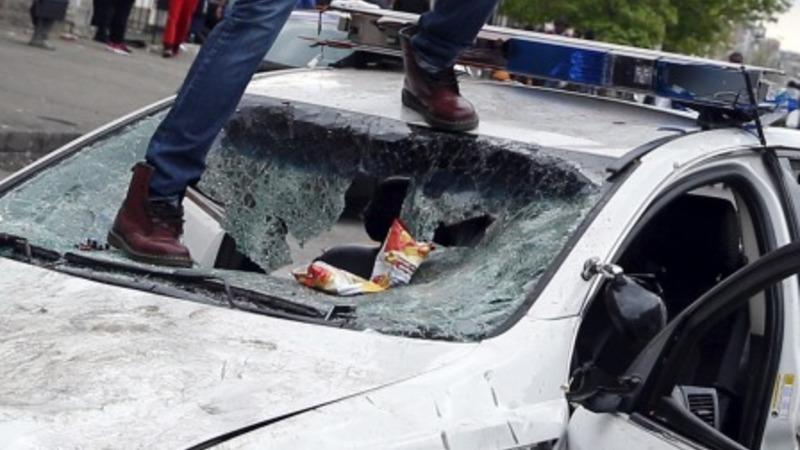 Emergency declared as rioting erupts in Baltimore