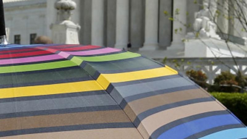 Supreme Court hears landmark same-sex marriage case