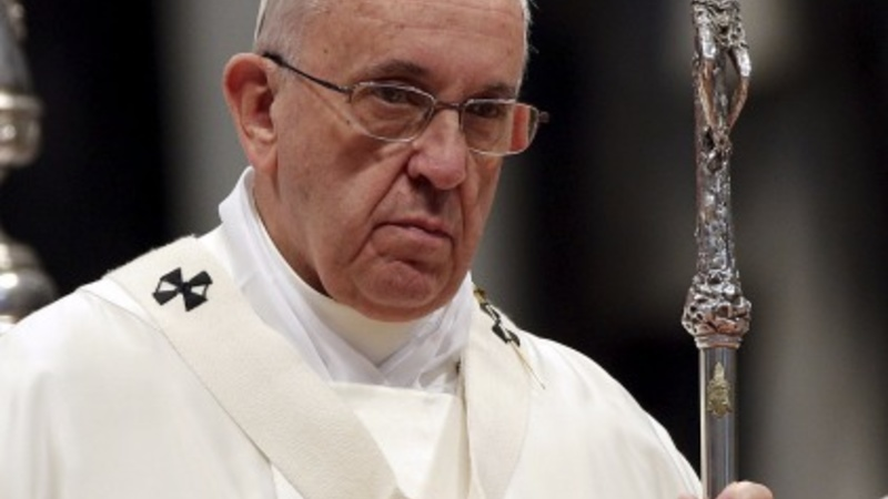 Pope dives into climate change debate