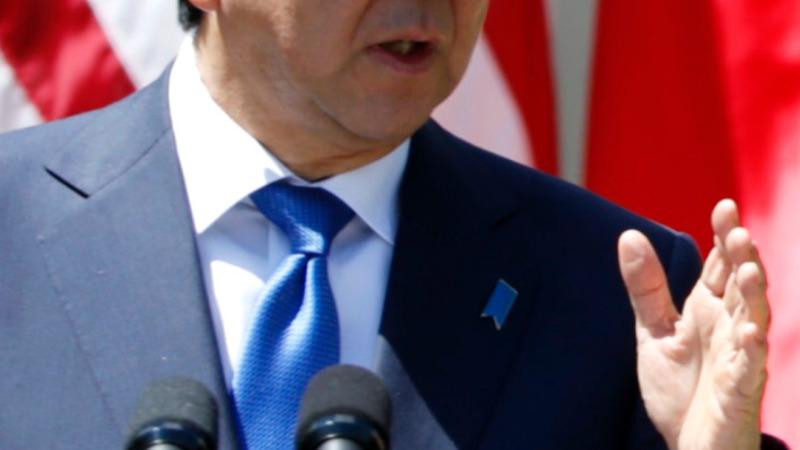 Abe speaks to Congress as US ties deepen