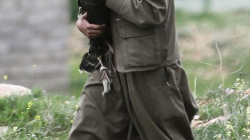 Women PKK fighters in Iraq