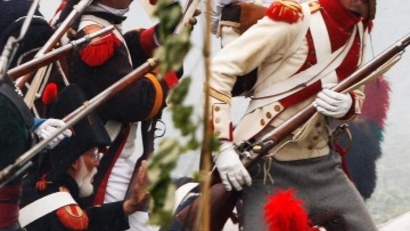 Army veterans excavate Waterloo