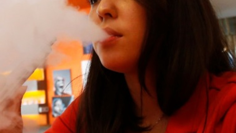 Cloud contests attract teens to vaping