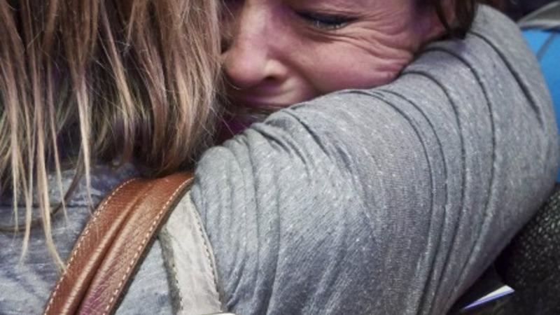 VERBATIM: Quake survivors return to UK