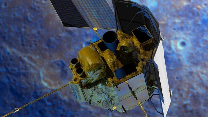 NASA ends mission with Mercury crash