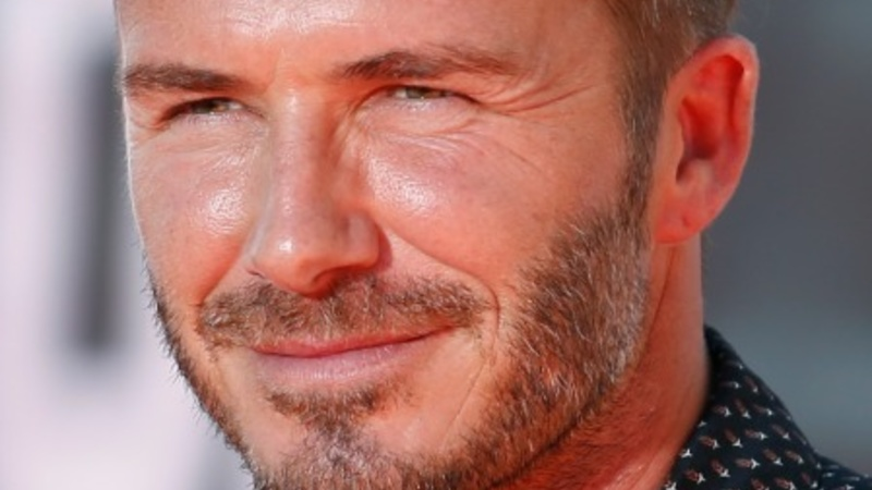 David Beckham turns 40