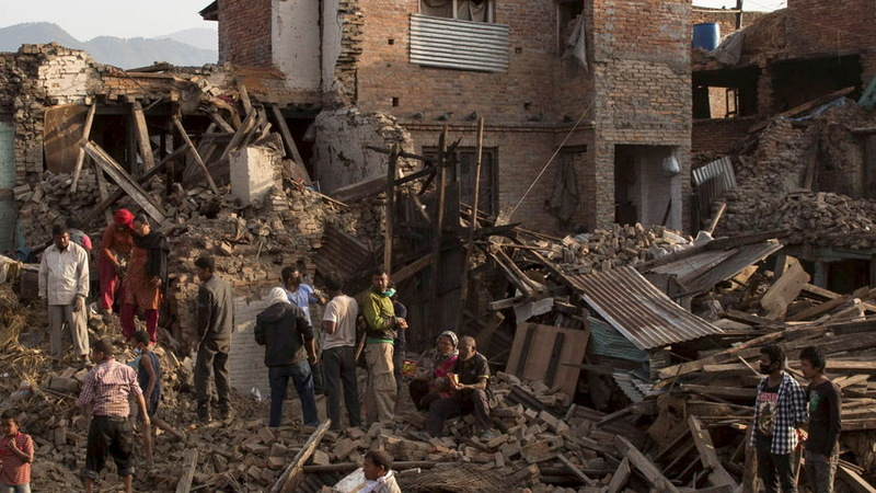 Oxfam aid heads to Nepal