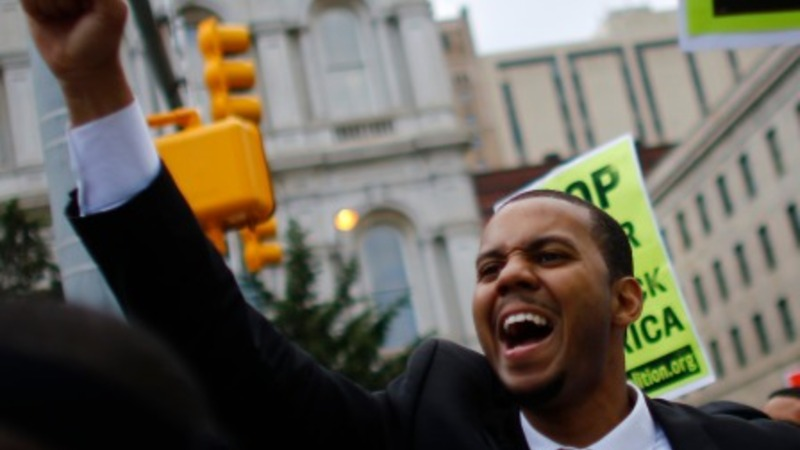 In Baltimore, thousands march in peace