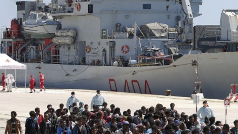 Italy struggling as migrant arrivals surge