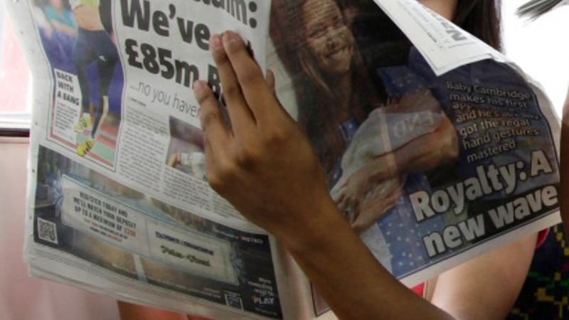 UK press loses election clout