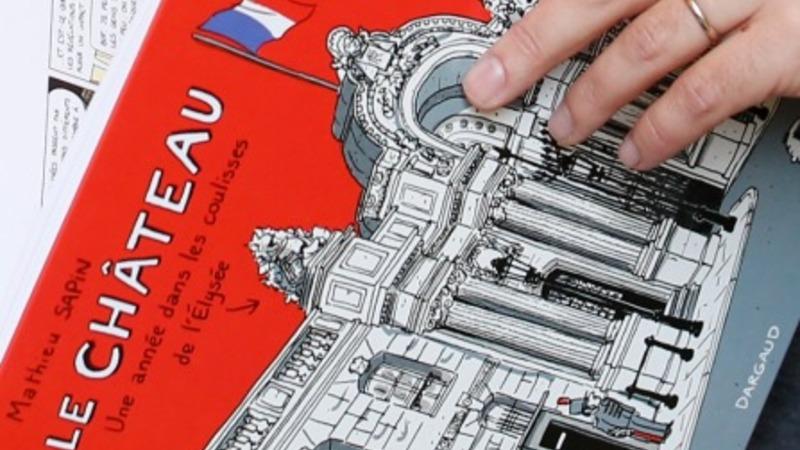 No superhero: The comic-book Hollande