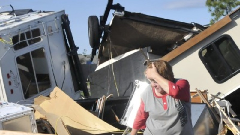 One dead after tornados lash Oklahoma
