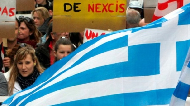 Greece refuses to cut jobs and pensions