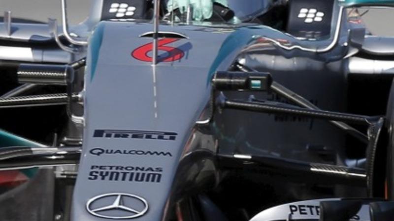 Grand Prix practice in Spain