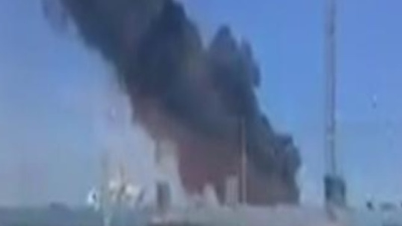 Military plane crashes in Seville