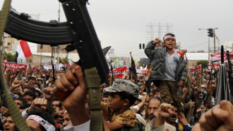 Coalition jet crashes in Yemen