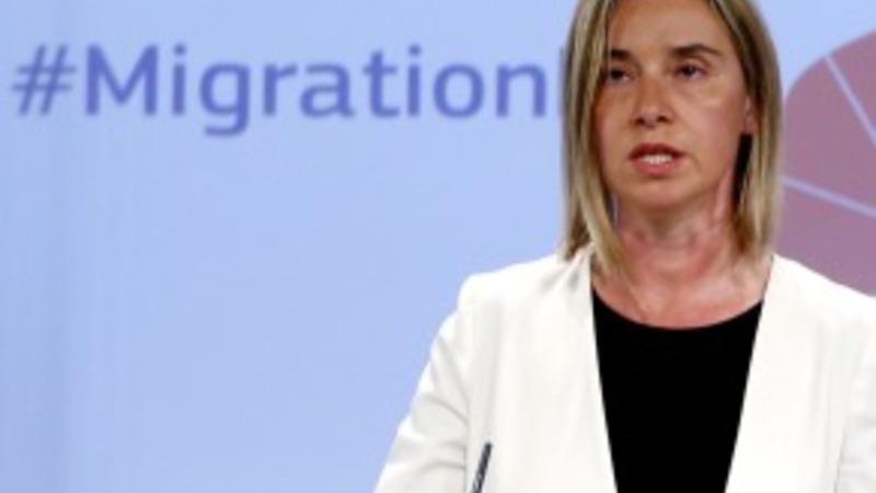 VERBATIM: EU's Mogherini on migrants