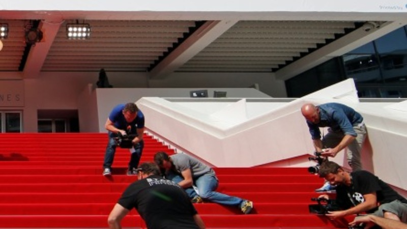 Cannes red carpet rolls for opening ceremony