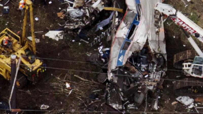 Amtrak train hit 106mph before crash