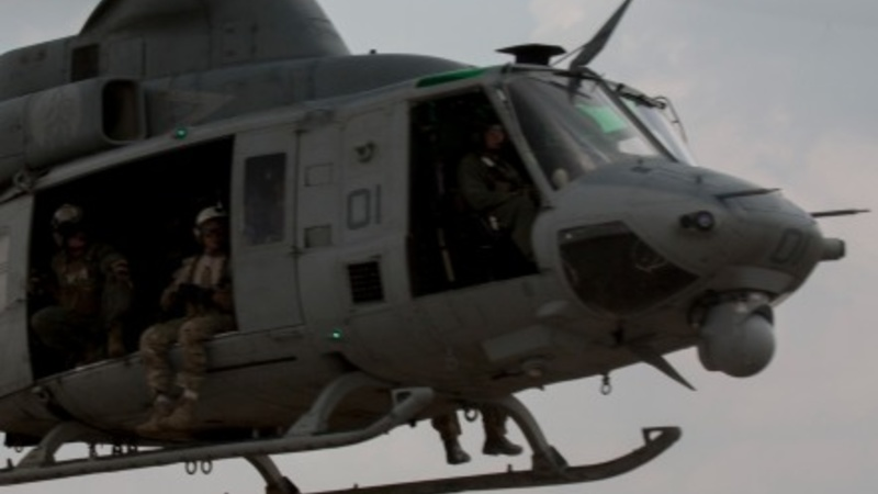 Troops scour Nepal's jungle for U.S. chopper