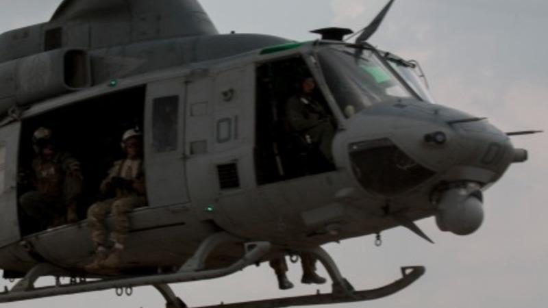 Troops scour Nepal's jungle for U.S. chopper