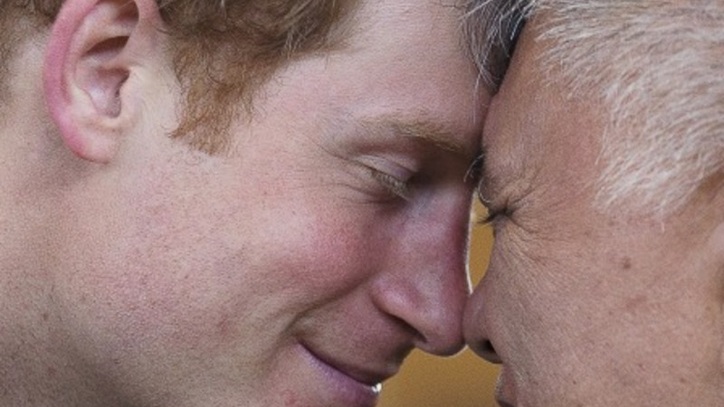 Prince Harry meets rugby royalty in NZ
