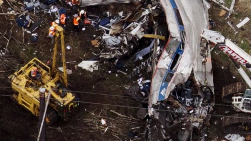 Amtrak train may have been hit by projectile