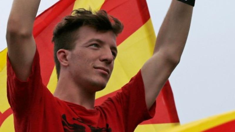 Massive protests against Macedonia's Gruevski