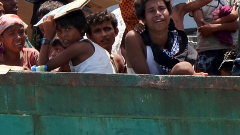 Patience wearing thin in Rohingya boat crisis