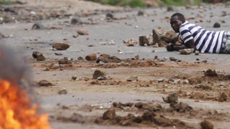 Protesters killed in running battles in Burundi