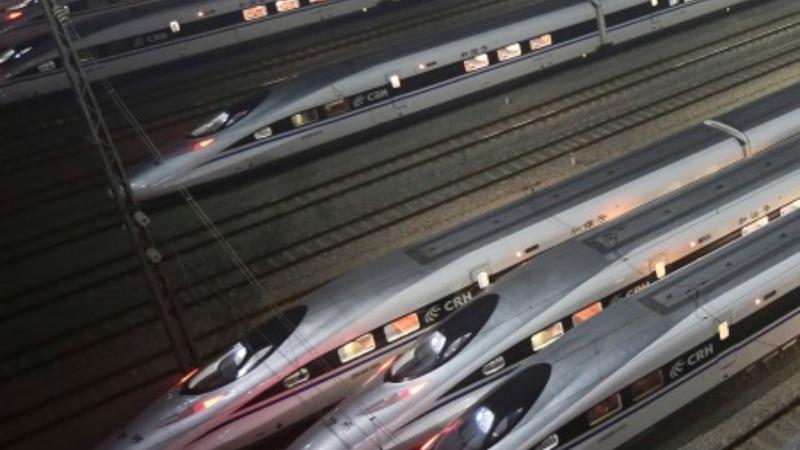 China jockeys for California rail contract