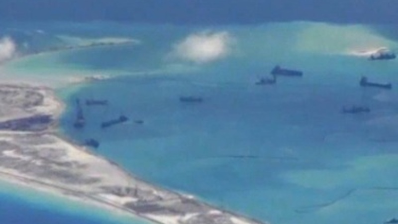 China, US quarrel over South China Sea