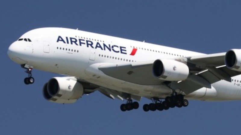 Air France flight escorted after bomb threat